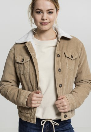 Light jacket - sand/white
