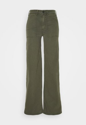 PALAZZO - Trousers - fir green