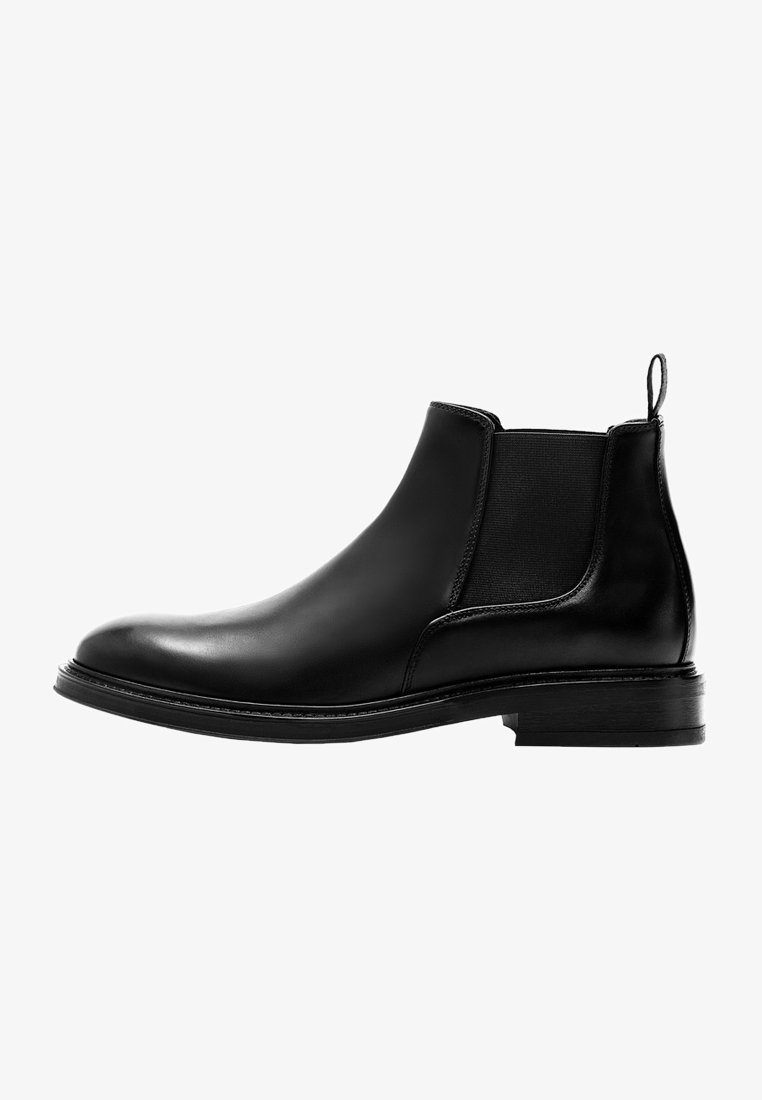 Massimo Dutti - CHELSEA AUS GEBÜRSTETEM  - Classic ankle boots - black