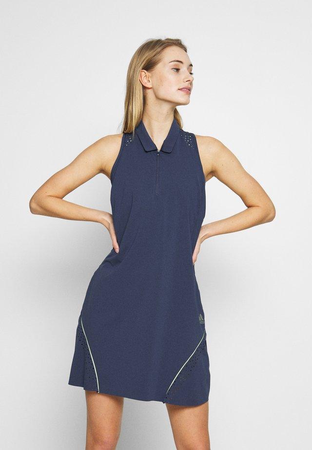 DRESS - Vestito di maglina - tech indigo