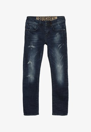 LAZARO - Jeans slim fit - raw blue denim