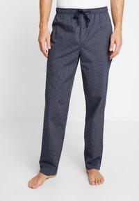 Schiesser - Pyžamový spodní díl - dark blue - 0