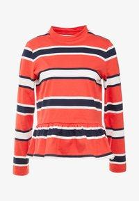 Libertine-Libertine - WAKE - Long sleeved top - red stripe - 3