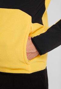 The North Face - GLACIER PRO FULL ZIP - Fleecejacke - yellow/black - 4