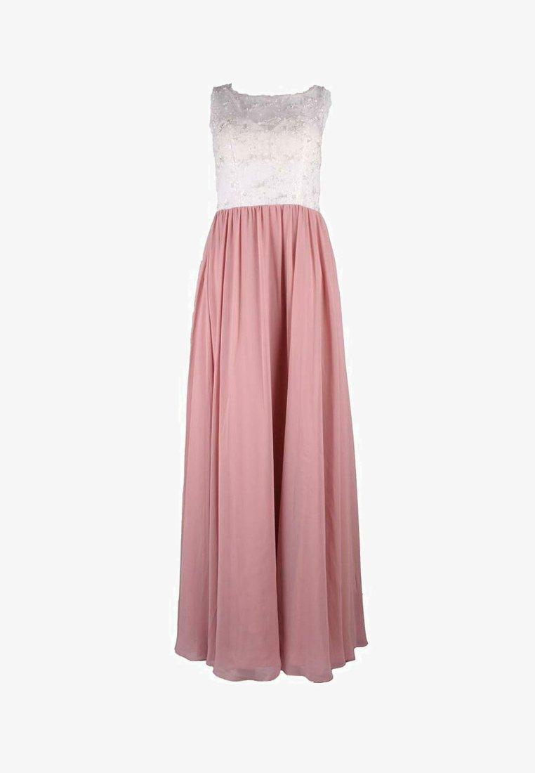 Unique - Maxi dress - rosa weiß