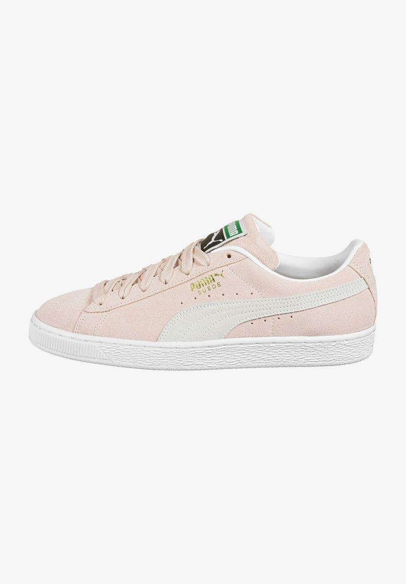Puma - SUEDE CLASSIC - Sneakers - peachskin/puma white