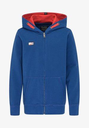 Zip-up hoodie - imperial blue