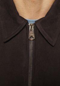 Paul Smith - JACKET - Leren jas - brown - 5