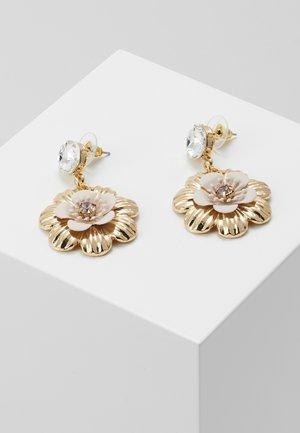 ALFENA - Earrings - blush/gold-coloured