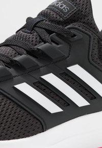 adidas Performance - GALAXY 4 - Juoksukenkä/neutraalit - core black/footwear white/shock pink - 5