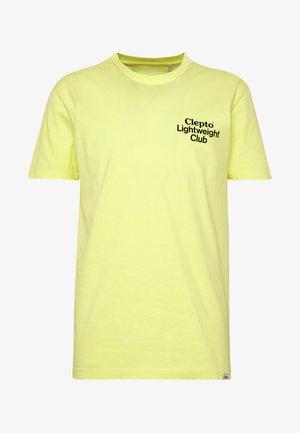 LIGHT CLUB - T-shirt z nadrukiem - elfin yellow