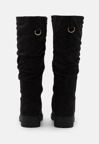 New Look Wide Fit - WIDE FIT CLOUD SLOUCH KNEE HIGH  - Laarzen - black - 3