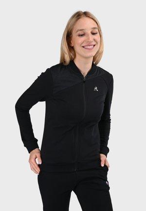 SPORT FZ SWEAT N1 - Zip-up sweatshirt - black