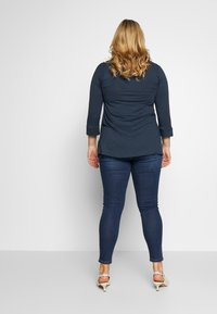 Simply Be - HIGH WAIST - Jeans Skinny Fit - rich indigo - 2