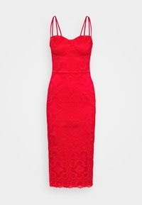 WAL G. - TYLER BODYCON DRESS - Cocktailkjole - red - 4