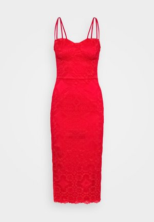 TYLER BODYCON DRESS - Vestito elegante - red