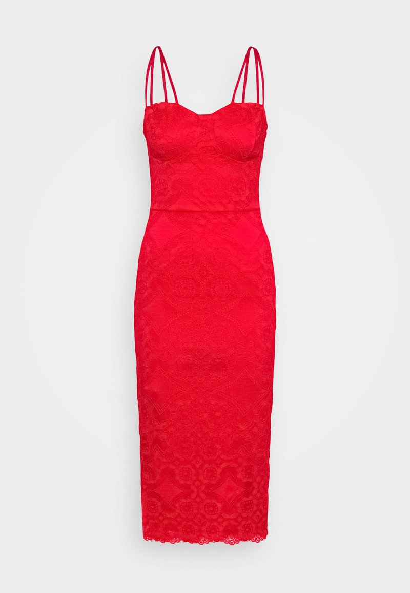 WAL G. TYLER BODYCON DRESS - Freizeitkleid - red/rot 05QEDh