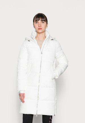 ELASTIC LOGO SORONA COAT - Zimní kabát - white