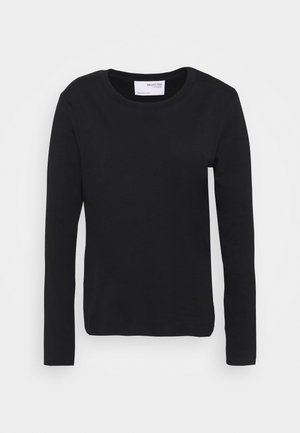 SLFSTANDARD TEE - Long sleeved top - black