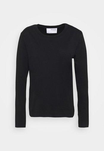 STANDARD TEE  - Long sleeved top - black