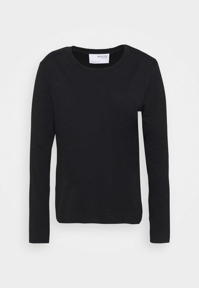 SLFSTANDARD TEE - Top sdlouhým rukávem - black