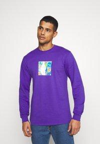 HUF - ACID HOUSE TEE - Long sleeved top - purple - 0