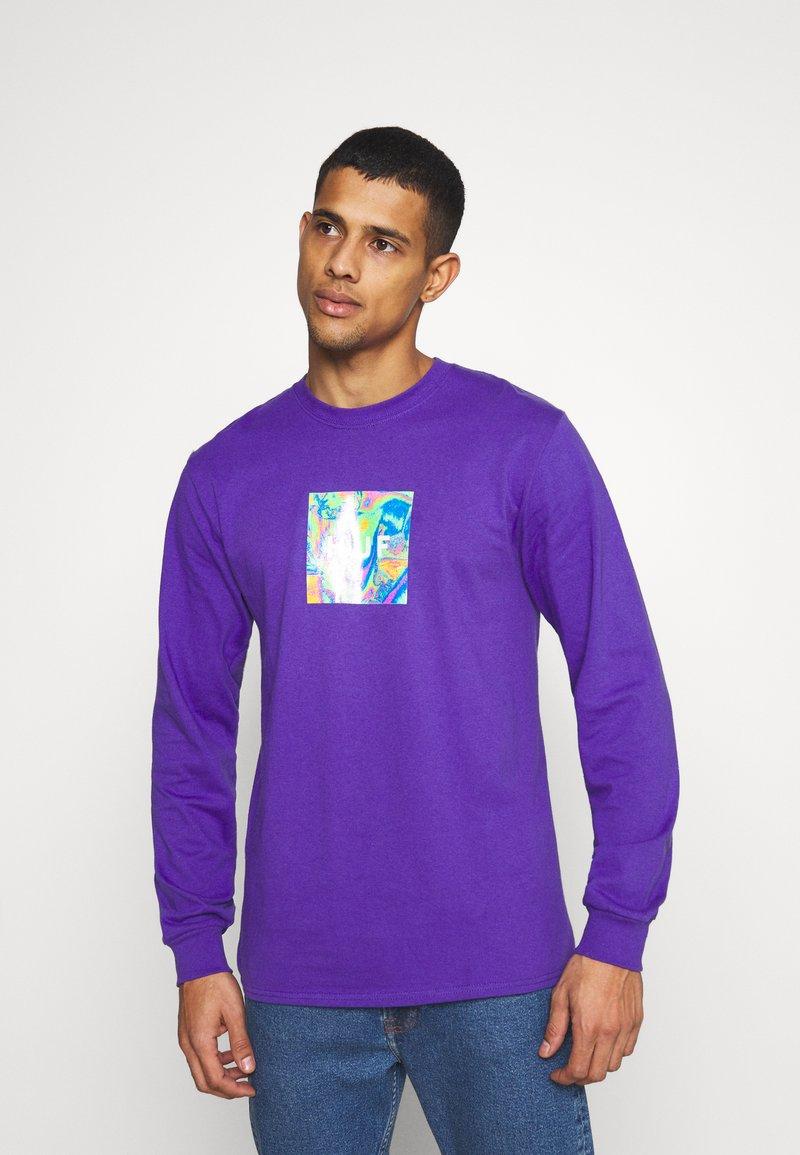 HUF - ACID HOUSE TEE - Long sleeved top - purple