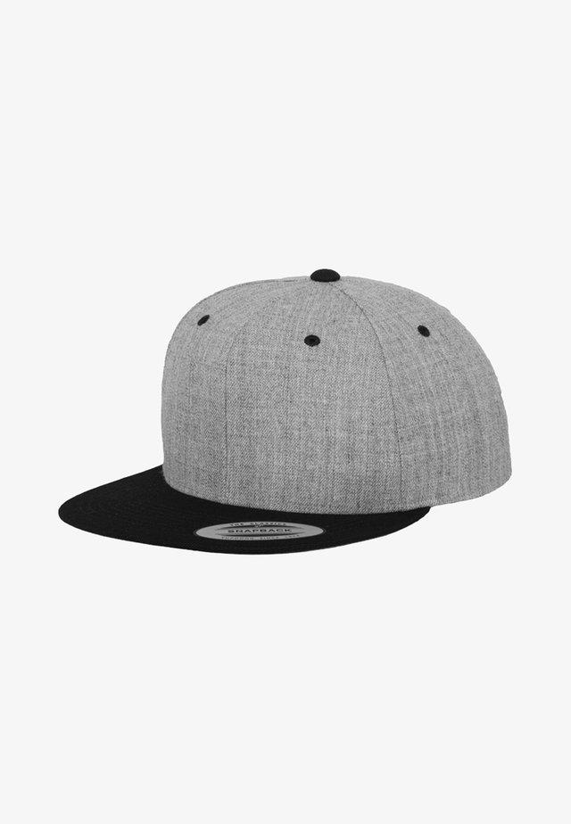 CLASSIC SNAPBACK 2-TONE - Casquette - light grey/black