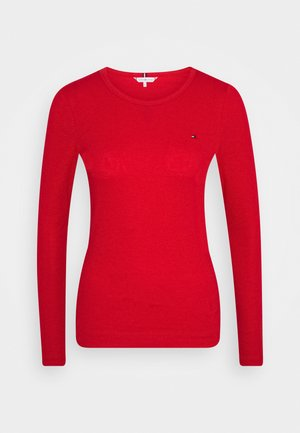 SKINNY OPEN  - Langarmshirt - primary red