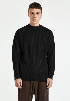 Maglione - mottled black