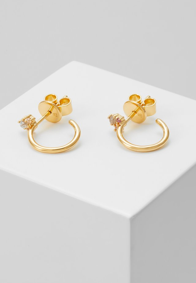 LIBELULLE EARRINGS - Korvakorut - gold-coloured
