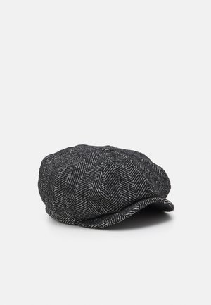 BROOD BAGGY SNAP CAP UNISEX - Čepice - black/ white