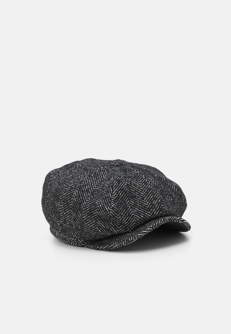 Brixton - BROOD BAGGY SNAP CAP UNISEX - Muts - black/ white