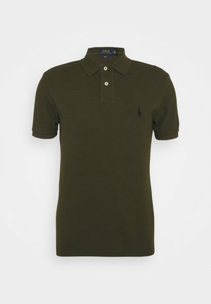 SLIM FIT MODEL - Polo - company olive