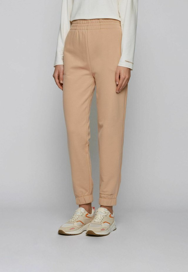Tracksuit bottoms - light brown