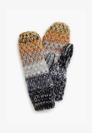 Mittens - grey knit