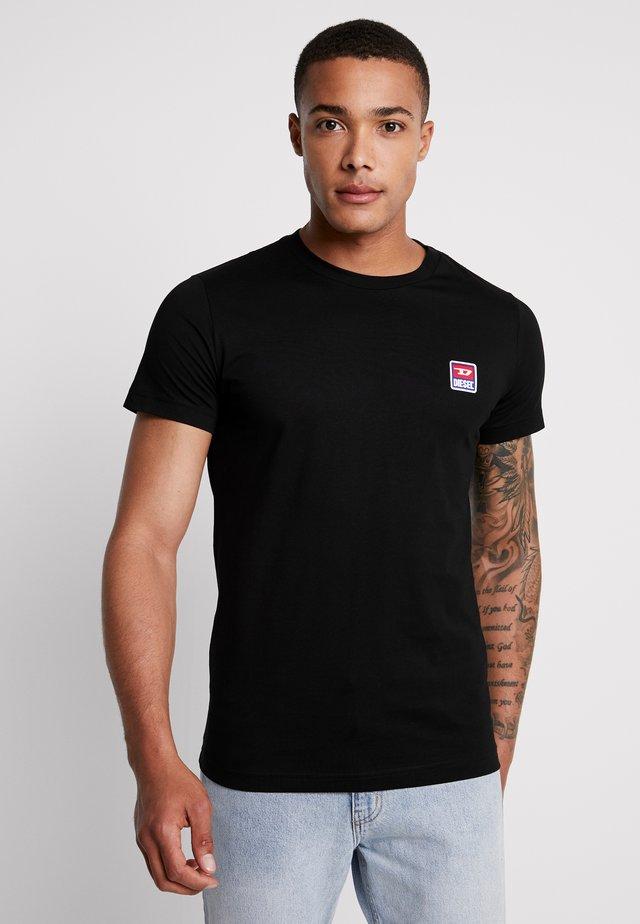 T-DIEGO-DIV T-SHIRT - Jednoduché triko - black