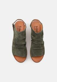 Felmini - MONACO - Sandały na platformie - birch - 5