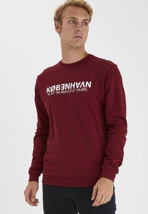 Sweatshirts - wine red