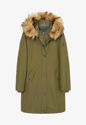 Winter coat - natural olive