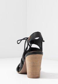 Carmela - High heeled sandals - black - 5
