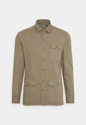 BOAR OVERSHIRT - Summer jacket - stone