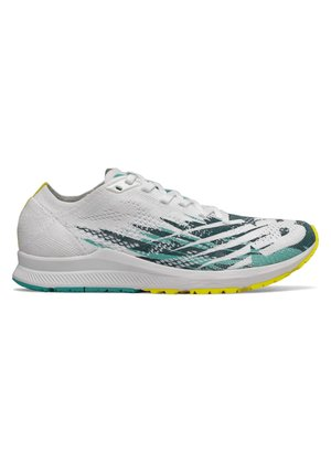 M_W1500V6 - Competition running shoes - white/sulphur/tidepool