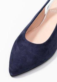 Maripé - Slingback ballet pumps - dark blue - 2