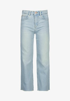 WIDE FIT - Straight leg jeans - bleached