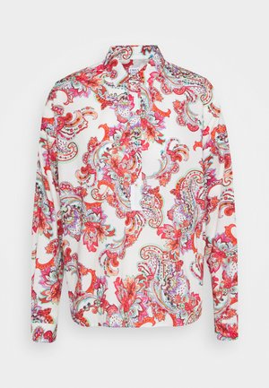 Button-down blouse - white/multicolor