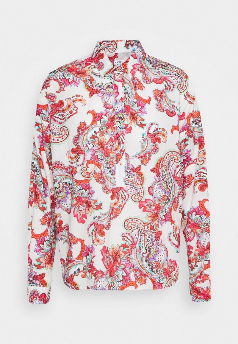 Emily van den Bergh - Button-down blouse - white/multicolor