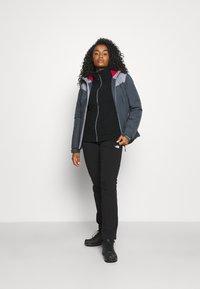 CMP - WOMAN JACKET FIX HOOD - Hardshell jacket - titanio - 1