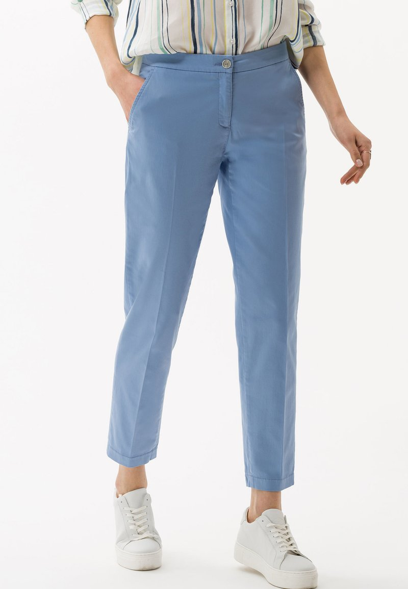 BRAX - STYLE MARON - Trousers - sky blue