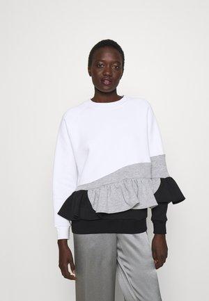 NO CANDY - Sweater - grey/black/white